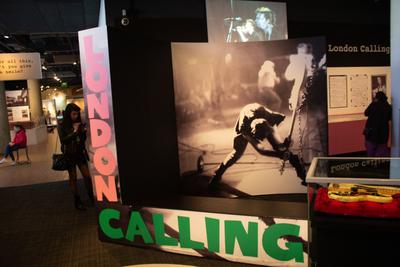 Big Display of the London Calling cover